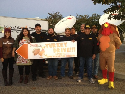 The Crowd Turkey Drive 2015